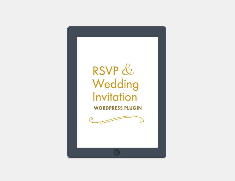 RSVP and Wedding Invitation
