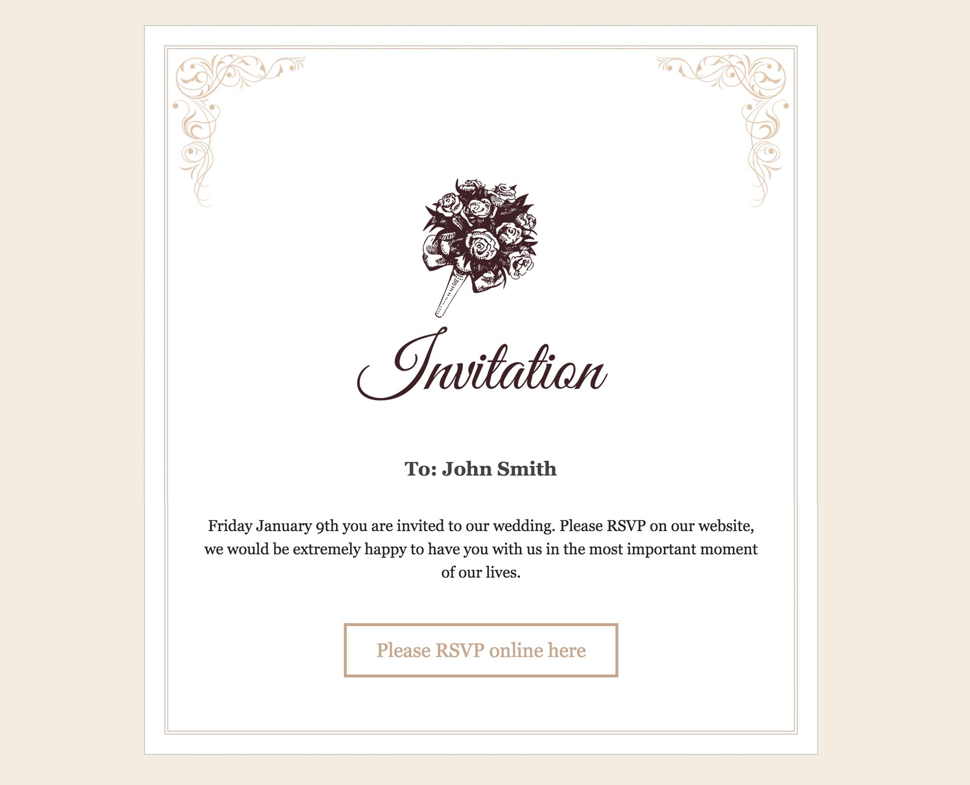 Screenshots – RSVP and Wedding Invitation WordPress Plugin